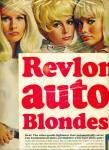 Revlon BLONDE SILK 2PG AD SIX BLONDE MODELS