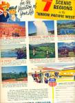 Click here to enlarge image and see more about item R5399: Union Pacific railroad ad