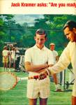 Click here to enlarge image and see more about item R5437: 1964 Wilson Sporting AD JACK KRAMER TENNIS