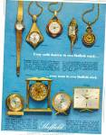 Sheffield clocks and watches ad  1965
