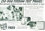 1939 PARD Dog Food AD Wire Haired Fox Terrier