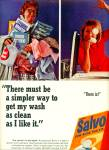 Salvo low suds tablets ad
