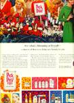 Click here to enlarge image and see more about item R5516: 1965 Rexall DRUG Pick A POSY COLOR AD