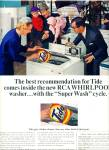 Click here to enlarge image and see more about item R5530: Tide soap ad   1965