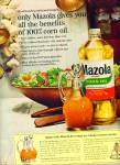 Click here to enlarge image and see more about item R5532: Mazola       pure corn oil ad   1965