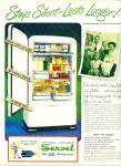 Click to view larger image of 1965 SERVEL Gas Refrigerator AD COOL (Image1)