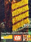 Duncan Hines cake mix   1965  ad