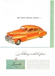 Click here to enlarge image and see more about item R5558a: Lincoln automobile ad