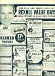 Click here to enlarge image and see more about item R5565: 1950 REXALL DRUG STORE Druggist Products AD