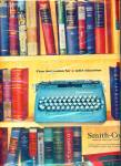 Smith-Corona typewriter co. ad  1957