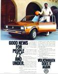 Click here to enlarge image and see more about item R7380: Volkswagen - Wilt Chamberlain - ad