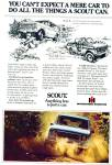 Click here to enlarge image and see more about item R7386: Scout automobile ad   1979