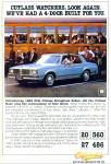 Oldsmobile  for 1980 ad