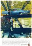 1968 Cadillac CAR Promo  AD MAN FISHING