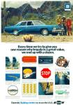 Chevrolet Impala automobile ad  1973