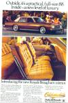 Click here to enlarge image and see more about item R7475: Oldsmobile Delta 88 Royale auto  ad