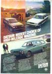 Datsun wagons ad   1980