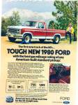 Ford Trucks for 1980 ad