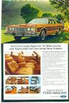 Ford LTD country Squire for 1974 ad