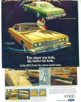 Click here to enlarge image and see more about item R7545: Ford LTD Brougham & Galaxie for 1973 ad