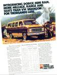 Click here to enlarge image and see more about item R7577: Dodge Mini Ram  ad