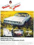 Click here to enlarge image and see more about item R7590: Dodge Polara  1969 ad