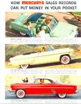 Click here to enlarge image and see more about item R7619: Mercury automobile ad     1954