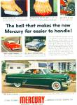 1954 Mercury Car Promo AD Merc-O-Matic