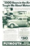 Click here to enlarge image and see more about item R7660: Plymouth 1936 automobile ad GARZA WOOTON