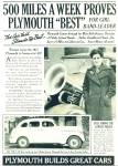 Click here to enlarge image and see more about item R7661: Plymouth  DeLuxe Sedan 1935 ad