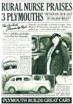 Click to view larger image of Plymouth  DeLuxe Sedan 1935 ad (Image3)