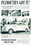Click here to enlarge image and see more about item R7664: Plymouth automobile Dated 1938 ad