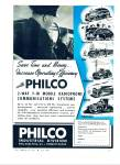 Philco Industrial division Co. ad  - 1948