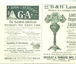 Click here to enlarge image and see more about item R7777: Kleemann's Bradley Hubbard  Lamps AD   1893