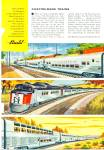 Click here to enlarge image and see more about item R7882: 1956 Budd company ad -Train