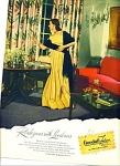 Click here to enlarge image and see more about item R9411: Goodall Fabrics ad - copyright 1946