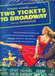 Click here to enlarge image and see more about item R7918: 1951 Movie: Two Tickets to Broadway ad LEIGH