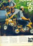 Click here to enlarge image and see more about item R8018: The Honda Mini Trail ad - 1969