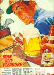 Click here to enlarge image and see more about item R8026: Falstaff quality beer ad   - 1964