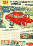 Vintage Dodge Coronet CAR automobile ad