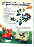 Click here to enlarge image and see more about item R8060: Fisher Price toys ad = 1981