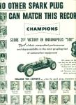 Champion spark plugs  ad 1951