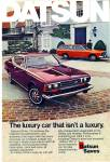 Datsun automobile ad  - 1974 610 CAR