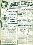 Rexall Drugs Jumbo circus days ad