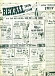 Click to view larger image of Rexall Drugs Jumbo circus days ad (Image2)