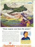 1944 Studebaker AD Wartime FLYING FORTRESS AR