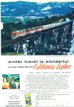 Click here to enlarge image and see more about item R8444: 1959 California Zephyr  in the High Sierra AD
