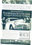 Studebaker automobile for 1942