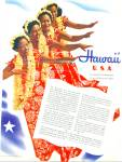 Hawaii U.S.A. brochure ad - 1941
