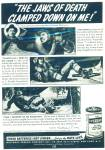1941 EVEREADY AD Real Life BALLARD DEAN